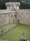 Sarteano - inside the castle walls